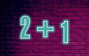 2plus1-WOCHEN*